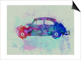 VW Beetle Watercolor 1 Poster by  NaxArt