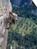 Rock Climbing, Yosemite, CA Art by Greg Epperson