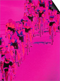 People Riding Bicycles Posters by Harold Wilion