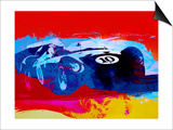 Maserati on the Race Track 1 Prints by  NaxArt