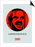 Shiny Poster 1 Print by Anna Malkin