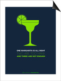 Green Margarita Posters by  NaxArt