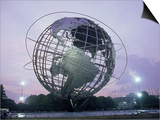Unisphere, Flushing Meadow Park, NY Posters by Barry Winiker