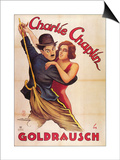 The Gold Rush, German Movie Poster, 1925 Posters