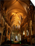 Interior, Canterbury Cathedral, Unesco World Heritage Site, Kent, England, United Kingdom Print by Roy Rainford