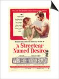 A Streetcar Named Desire, 1951 Affiches