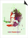 San Francisco Romance Prints by  NaxArt