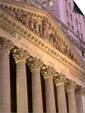 Architectural Detail of Stock Exchange, NYC Posters by Rudi Von Briel