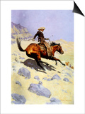 The Cowboy, 1902 Art by Frederic Sackrider Remington