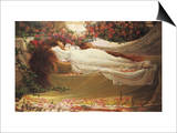 The Sleeping Beauty Prints by Thomas Ralph Spence