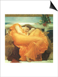 Flaming June, 1895 Prints by Frederick Leighton