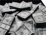 Pile of American Money Art by Howard Sokol