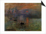 Impression: Sunrise 1873 Prints by Claude Monet