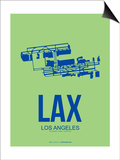 Lax Los Angeles Poster 1 Prints by  NaxArt