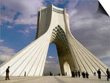 Azadi Tower, Teheran, Iran, Middle East Print by Sergio Pitamitz