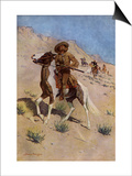 The Scout Art by Frederic Sackrider Remington