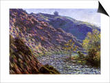 Bend in the River, 1888 Prints by Claude Monet