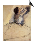 The Dancer, 1874 Poster by Edgar Degas