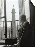 Ernest Hemingway in Paris, September 14, 1956 Posters by Luc Fournol