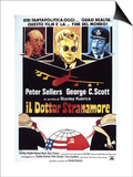 Dr. Strangelove, Italian Movie Poster, 1964 Posters