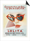 Lolita, French Movie Poster, 1962 Art