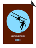 North Poster 2 Prints by Anna Malkin