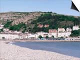 Beach and Great Orme, Llandudno, Conwy, Wales, United Kingdom Prints by Roy Rainford