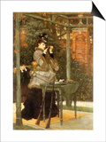 Woman at Rifle Range, 1869 Posters by James Tissot