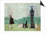 An Audience with Sweetheart Print by Sam Toft