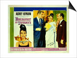 Breakfast At Tiffany's, 1961 Poster