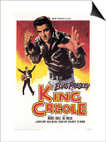 King Creole, French Movie Poster, 1958 Posters