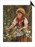 Picking Honeysuckle Posters by Sophie Anderson