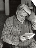 Ernest Hemingway in Paris, September 14, 1956 Prints by Luc Fournol