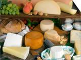 Italian Cheeses, Italy Prints by Nico Tondini