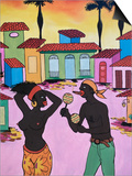 Cuban Painting, Havana, Cuba, West Indies, Central America Posters by Gavin Hellier
