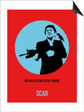 Scar Poster 1 Art by Anna Malkin