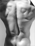 Muscular Shot of Male Back Affiches par Rob Lang