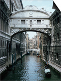 Bridge of Sighs, Venice, Veneto, Italy Posters by Christina Gascoigne