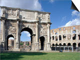 Arch of Constantine, Rome, Lazio, Italy Posters by Adam Woolfitt