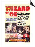 The Wizard of Oz, 1939 Print
