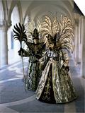 Carnival Costumes, Venice, Veneto, Italy Prints by Simon Harris