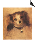 Head of a Dog, 1870 Posters by Pierre-Auguste Renoir