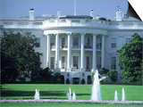 Exterior of White House, Washington, DC Konst av Jon Riley