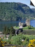 Urquhart Castle, Loch Ness, Scotland, United Kingdom Print by Adina Tovy