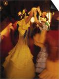Flamenco Dancers, Spain Kunstdrucke von Peter Adams