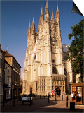 Canterbury Cathedral, Unesco World Heritage Site, Kent, England, United Kingdom Print by Michael Busselle