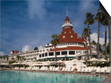 Swimming Pool in a Hotel, Hotel Del Coronado, Coronado, San Diego County, California, USA Art