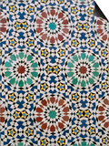 Detail of Tilework, the Royal Palace, Fez, Morocco, North Africa, Africa Prints by  R H Productions