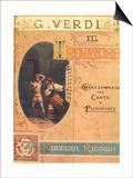 Il Trovatore by G. Verdi, c.1923 Posters