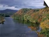 James River, Blue Ridge Parkway, Virginia, USA Prints by James Green
